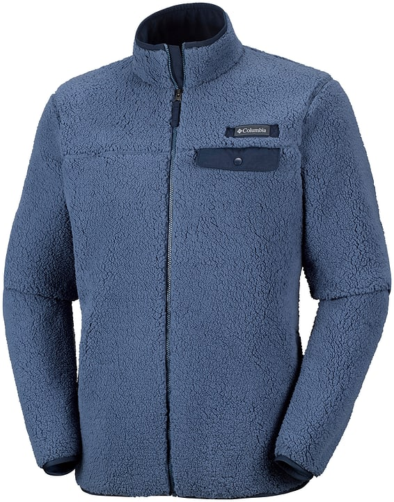 Mountain Side Veste de stretch polaire pour homme Columbia 476815400647 Couleur denim Taille XL Photo no. 1