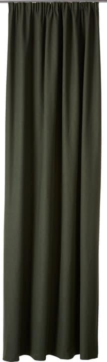 PIETRO Fertigvorhang blickdicht 430266821863 Farbe Mittelgrün Grösse B: 145.0 cm x H: 270.0 cm Bild Nr. 1