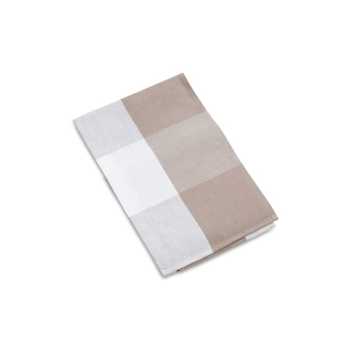 PANNI KARO Torchon 378040400000 Couleur Taupe Dimensions L: 70.0 cm x P: 50.0 cm Photo no. 1