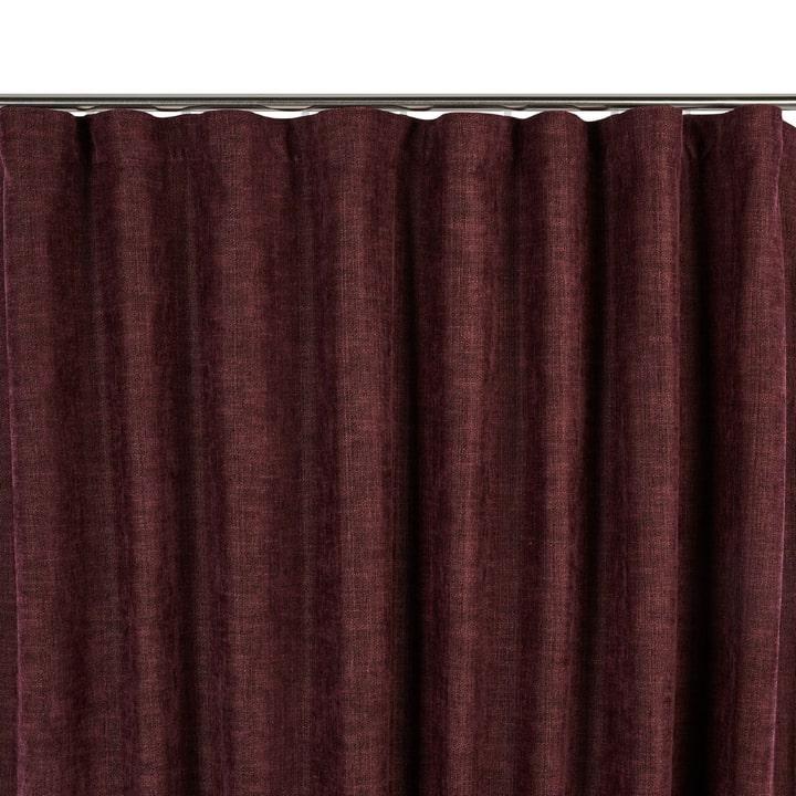 SIANA Rideau opaque prêt à poser 372075300000 Dimensions L: 150.0 cm x H: 270.0 cm Couleur Aubergine Photo no. 1