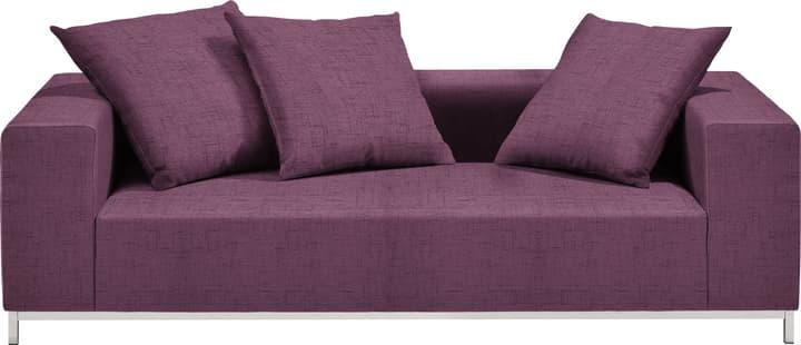 MEMPHIS Canapé 2 places 405743020323 Couleur Violet Dimensions L: 212.0 cm x P: 105.0 cm x H: 60.0 cm Photo no. 1