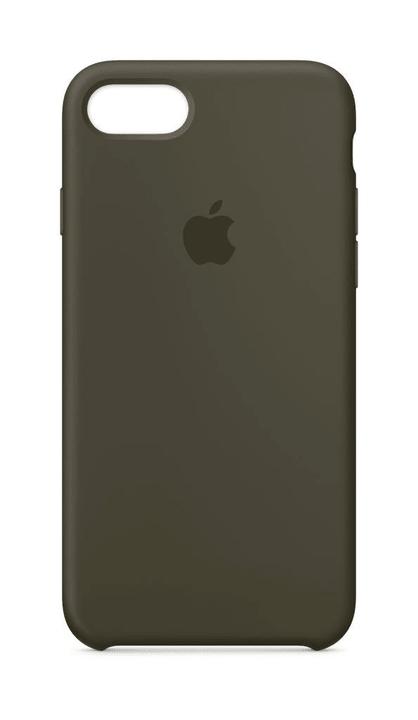 iPhone 8 & 7 coque en silicone olive sombre Apple 785300130060 Photo no. 1
