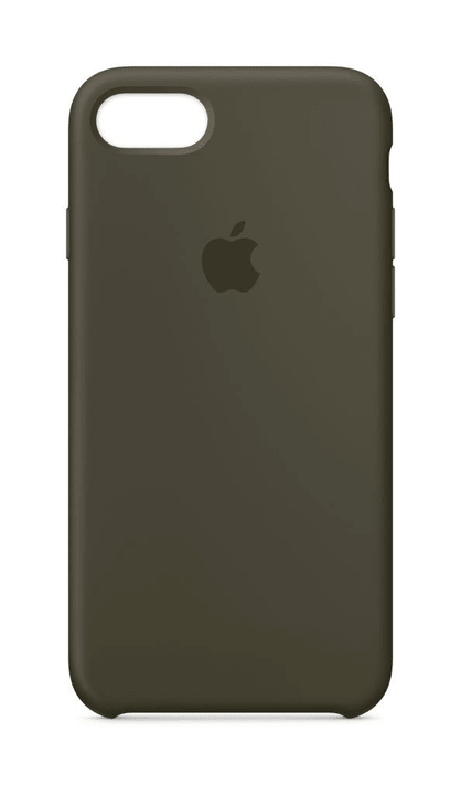 iPhone 8 & 7 coque en silicone olive sombre Apple 785300130060