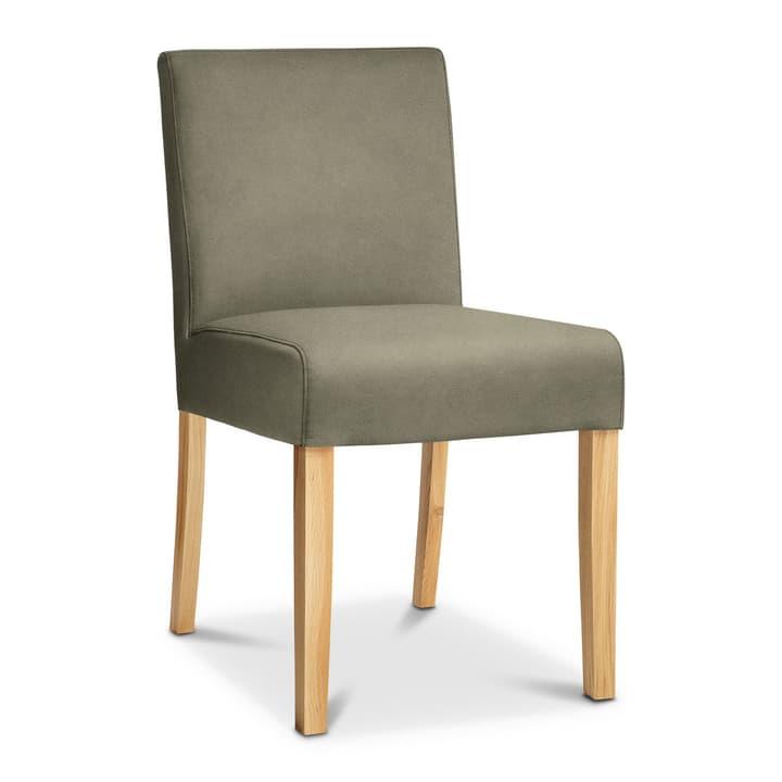 TWEED Chaise Nubuck 366010348607 Dimensions L: 48.0 cm x P: 62.0 cm x H: 84.0 cm Couleur Olive Photo no. 1