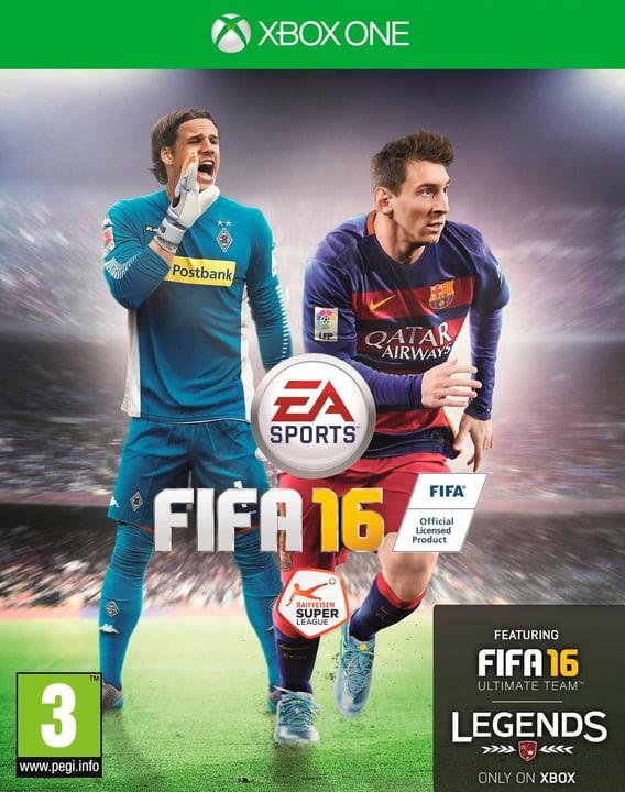 Xbox One - FIFA 16 Physique (Box) 785300120016 Photo no. 1
