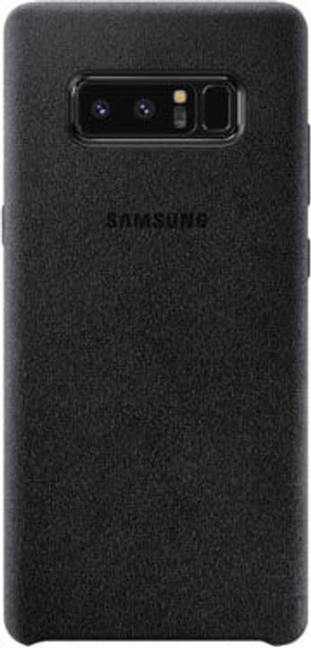 Alcantara Cover Note 8 schwarz Hülle Samsung 785300130369 Bild Nr. 1