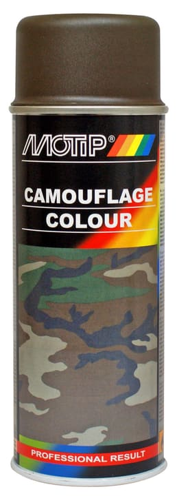Camouflage 400 ml Peinture aérosol MOTIP 620836800000 Type de couleur 6014 Photo no. 1