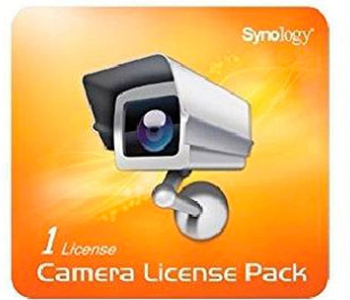 NVR Camera Pack 1 license Synology 785300123657 Photo no. 1