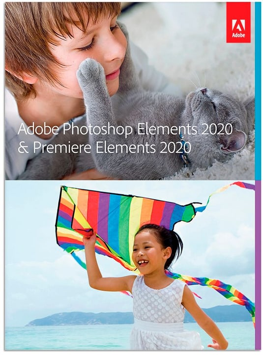 Photoshop Elements 2020 & Premiere Elements 2020 Upgrade [PC/Mac] (D) Physique (Box) Adobe 785300147094 Photo no. 1