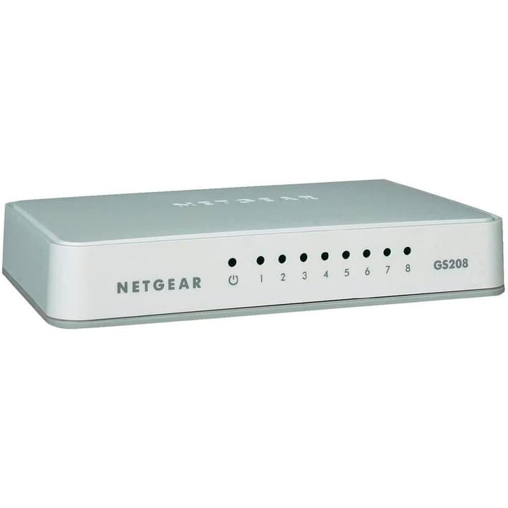 GS208-100PES 8-Port GB Switch Netgear 798211500000 N. figura 1