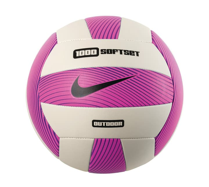 1000 Softset Outdoor Volleyball Volley-ball de plage Nike 461902500529 Couleur magenta Taille 5 Photo no. 1