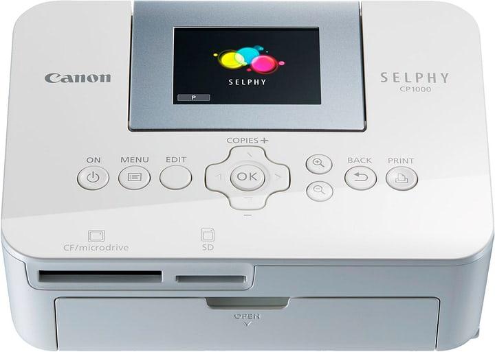 Selphy CP1000 weiss Fotodrucker Canon 793439400000 Bild Nr. 1