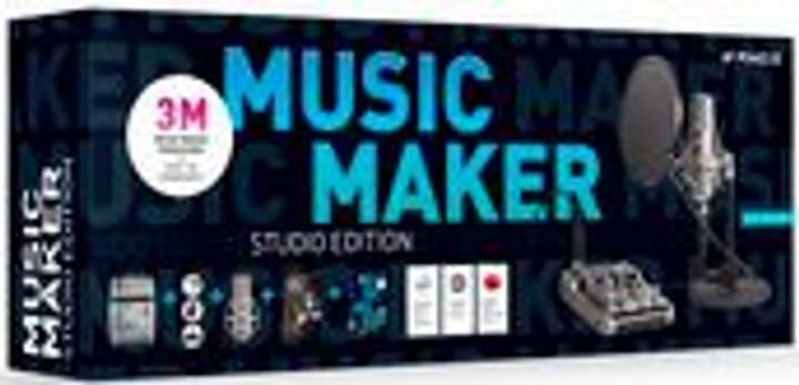 Music Maker Studio Edition 2020 [PC] (D) Physisch (Box) Magix 785300146280 Bild Nr. 1