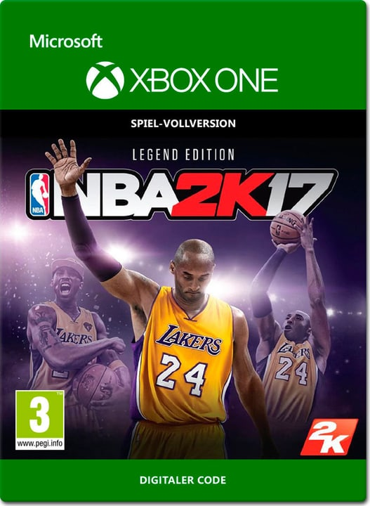 Xbox One - NBA 2K17: Legend Edition Digital (ESD) 785300137384 Photo no. 1