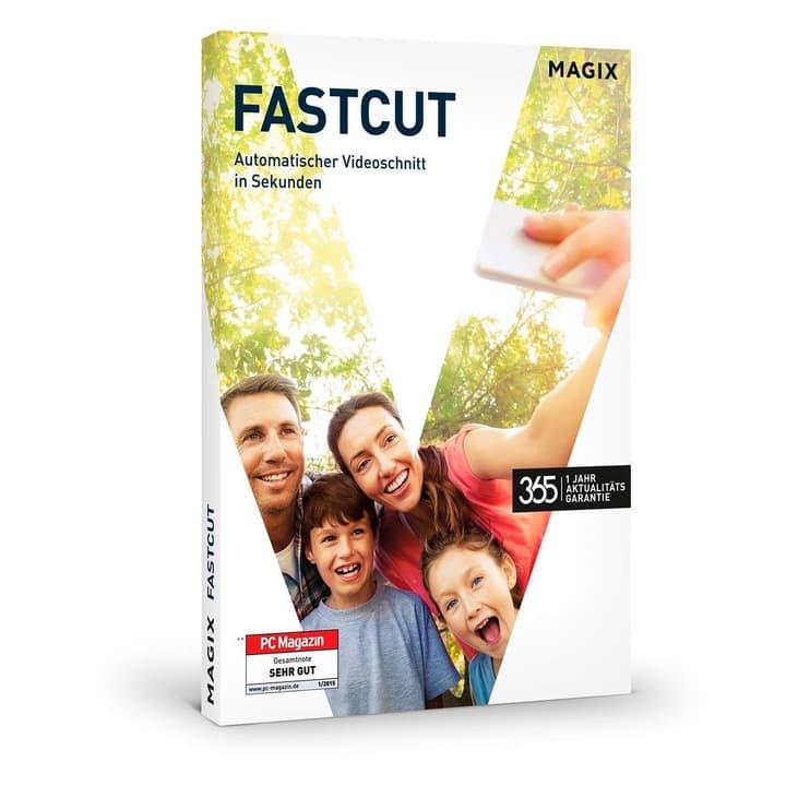 PC - MAGIX Fastcut (Aktualitätsgarantie) Physisch (Box) Magix 785300120909 Bild Nr. 1