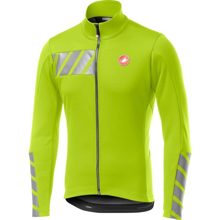 Castelli Raddoppia 2 Jacket Herren-Bikejacke Castelli 461383400455 Farbe neongelb Grösse M Bild Nr. 1