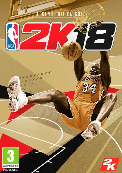 PC - NBA 2K18 - Legend Edition Gold Digitale (ESD) 785300133891 N. figura 1