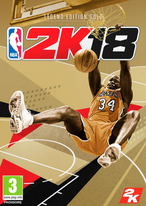 PC - NBA 2K18 - Legend Edition Gold Download (ESD) 785300133891 Photo no. 1