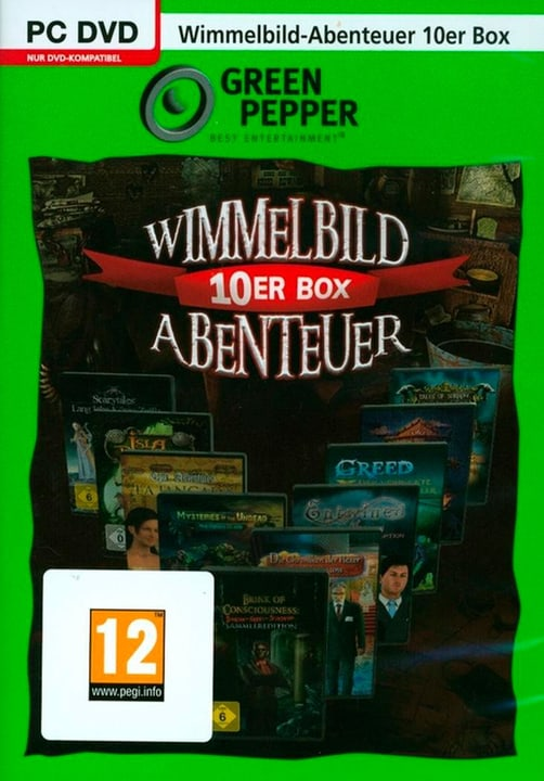 PC - Green Pepper: Wimmelbild 10er Box Abenteuer (D) Physisch (Box) 785300135815 Bild Nr. 1