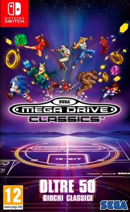 NSW - SEGA Mega Drive Classics I Box 785300139673 Photo no. 1