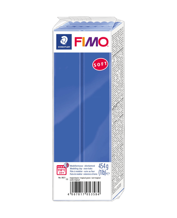 Image of Fimo FIMO Soft Grossblock, brilliantblau
