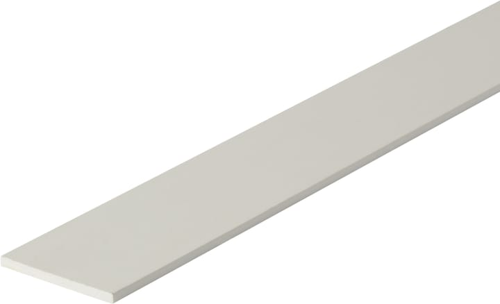 Flachstange 3 x 35.5 mm PVC weiss 1 m alfer 605114300000 Bild Nr. 1