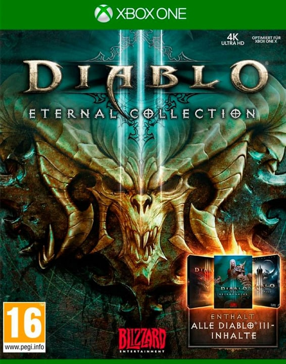 Xbox One - Diablo III - Eternal Collection (D) Box 785300135888 Langue Allemand Plate-forme Microsoft Xbox One Photo no. 1