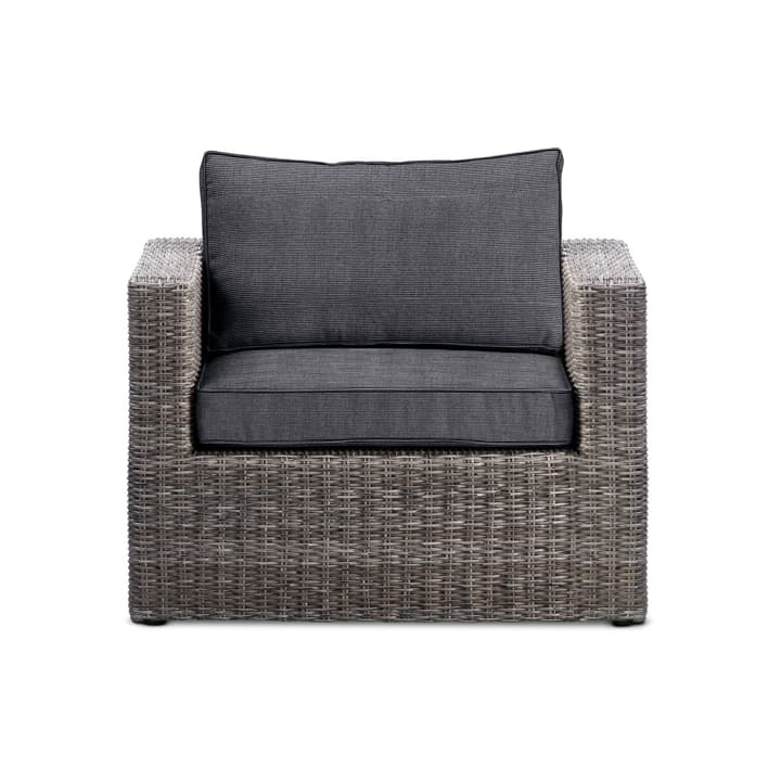 COLL Fauteuil 368067500060 Dimensions L: 80.0 cm x P: 80.0 cm x H: 63.0 cm Couleur Anthracite Photo no. 1