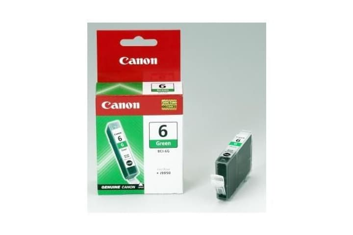 BCI-6G green Cartouche d'encre Canon 797527300000 Photo no. 1