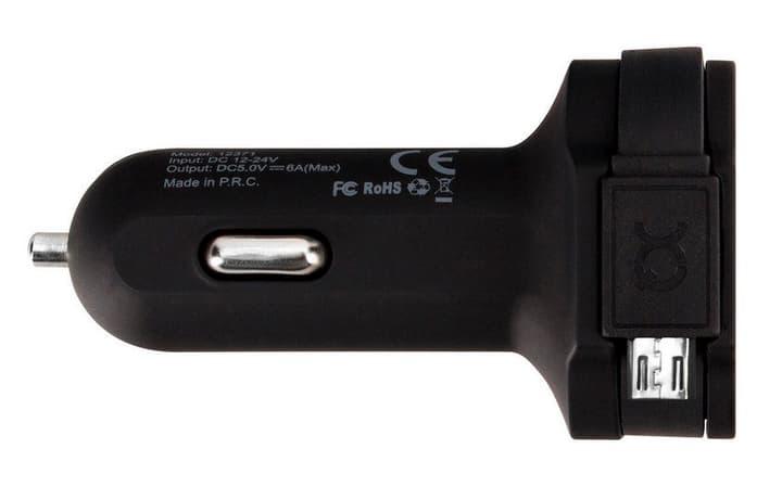Car Charger schwarz Ladegerät XQISIT 797960100000 Bild Nr. 1
