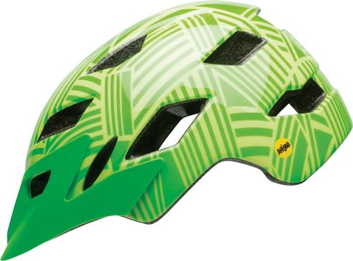 Sidetrack Youth Casque de velo Bell 465011050060 Couleur vert Taille 50-57 Photo no. 1