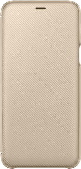 Wallet Cover gold Hülle Samsung 785300136032 Bild Nr. 1
