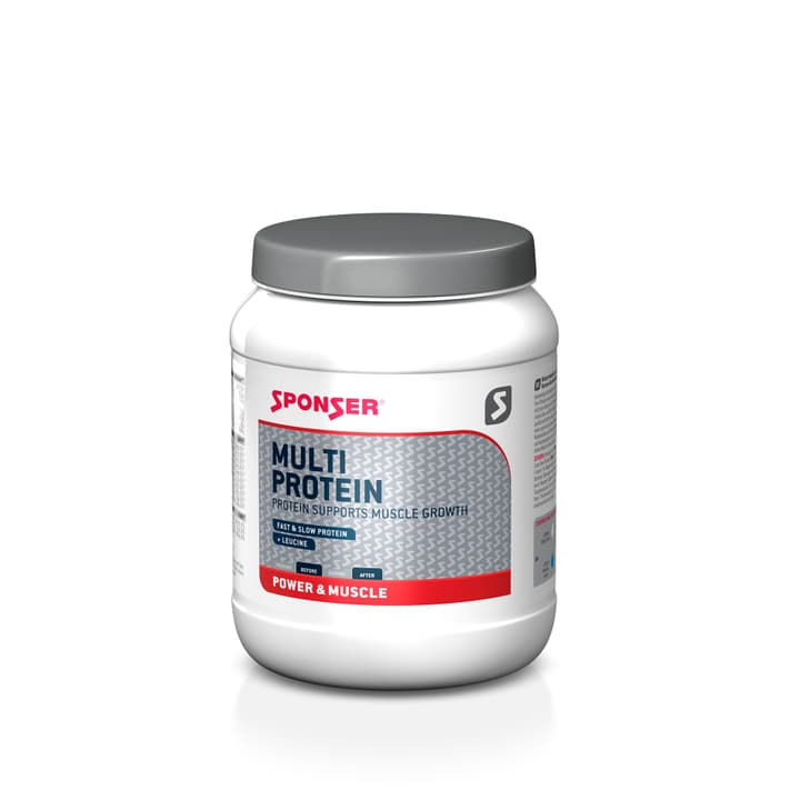 Multi Protein CFF 850 g MULTIPROTEINPULVER MIT LEUCIN, VITAMINEN UND SÜSSUNGSMITTELN, CHOCOLATE AROMA. Sponser 471934300300 Geschmack Chocolate Bild-Nr. 1