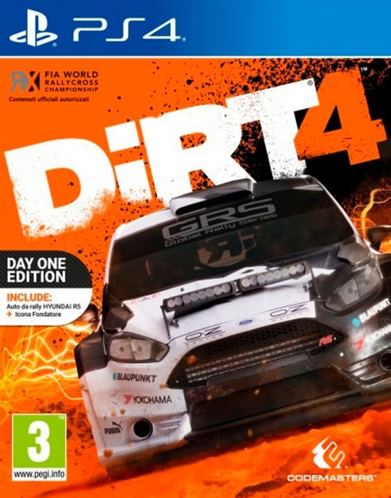 PS4 - DiRT 4 Day One Edition Box 785300122306 Photo no. 1