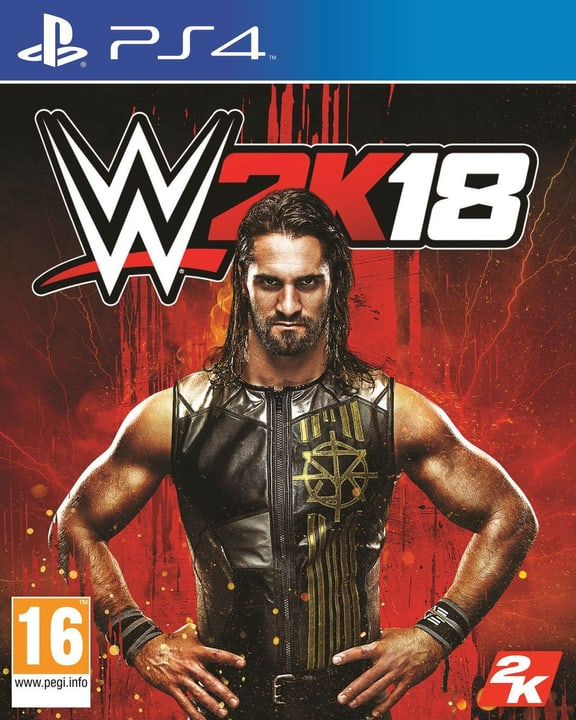 PS4 - WWE 2K18 Fisico (Box) 785300129105 N. figura 1