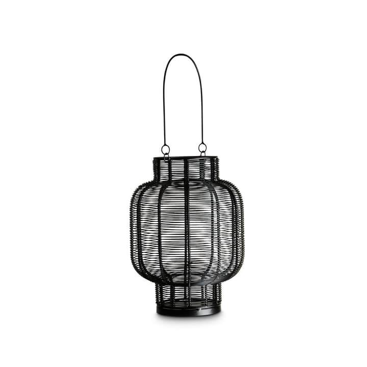 KIRAN Lanterna 390129200000 Dimensioni L: 20.0 cm x P: 20.0 cm x A: 29.0 cm Colore Nero N. figura 1