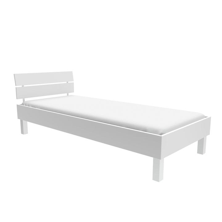 TOPLINE Letto HASENA 403561300000 Colore Bianco Dimensioni L: 90.0 cm x P: 200.0 cm N. figura 1