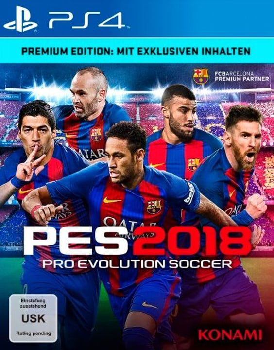 PS4 - PES 2018 - Pro Evolution Soccer 2018 Premium Ed. 785300122646 N. figura 1