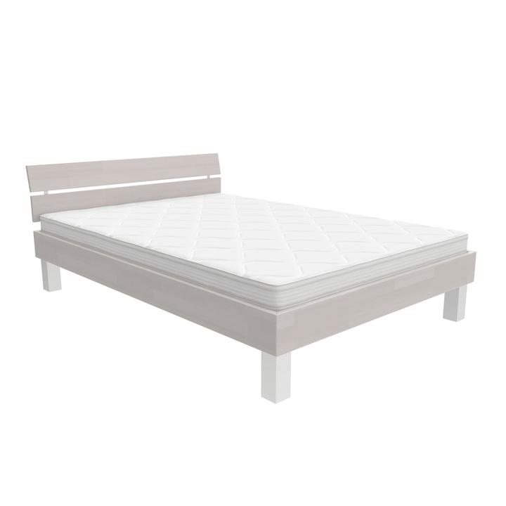 WOODLINE Bett HASENA 403551800000 Grösse B: 160.0 cm x T: 200.0 cm Farbe Weiss Bild Nr. 1
