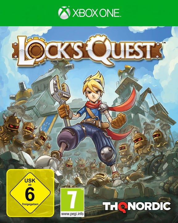 Xbox One - Lock's Quest Physique (Box) 785300122132 Photo no. 1
