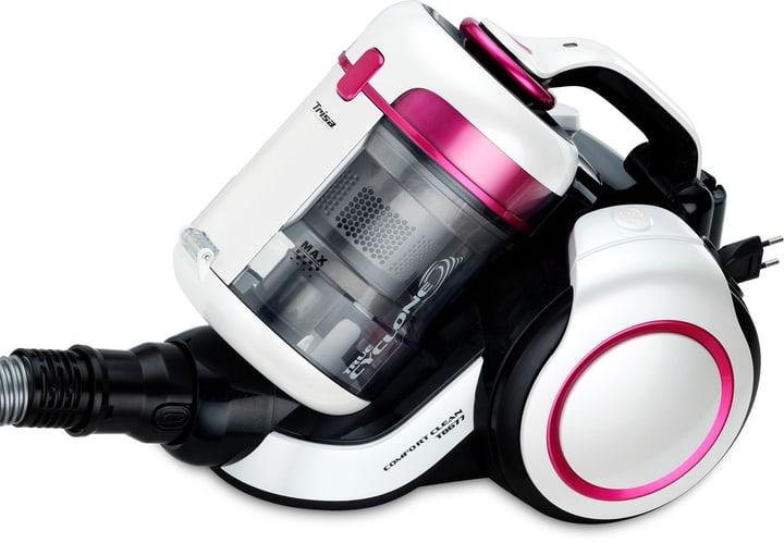 Comfort Clean T8673 senza Sacco bianco/pink Aspirapolvere Trisa Electronics 785300145641 N. figura 1