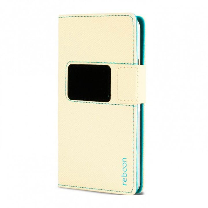Mobile Booncover XS2 Etui beige Flip Case reboon 785300125750 Photo no. 1
