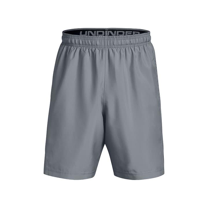 Woven Graphic Short Mens Short pour homme Under Armour 464918800380 Couleur gris Taille S Photo no. 1