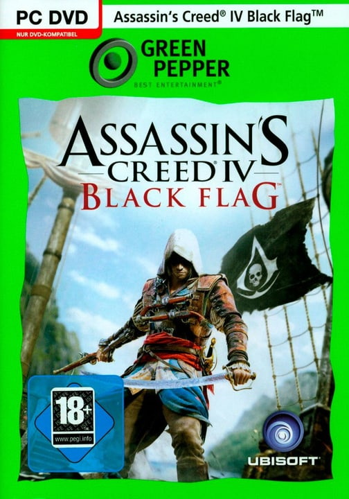 PC -  Green Pepper: Assassin's Creed 4 - Black Flag Physique (Box) 785300121886 Photo no. 1