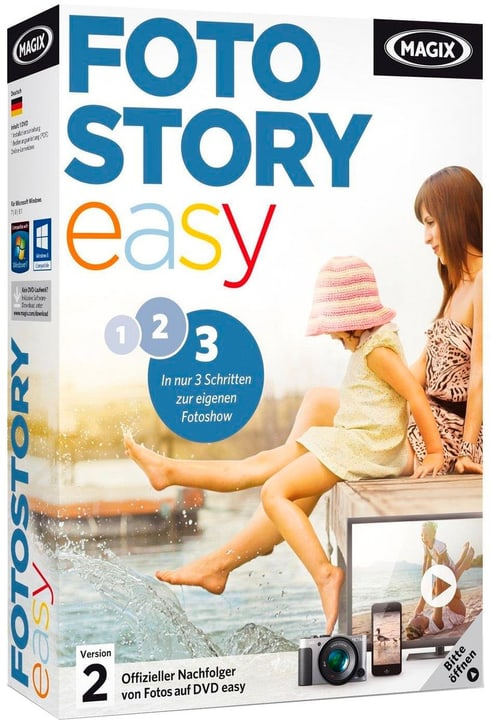 PC - Foto easy 2 HD Physique (Box) Magix 785300119860 Photo no. 1