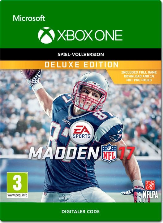 Xbox One - Madden NFL 17: Deluxe Edition Digital (ESD) 785300137365 N. figura 1