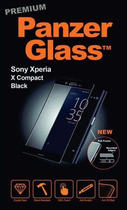 Premium Xperia X Compact - schwarz Schutzfolie Panzerglass 785300134537 Bild Nr. 1