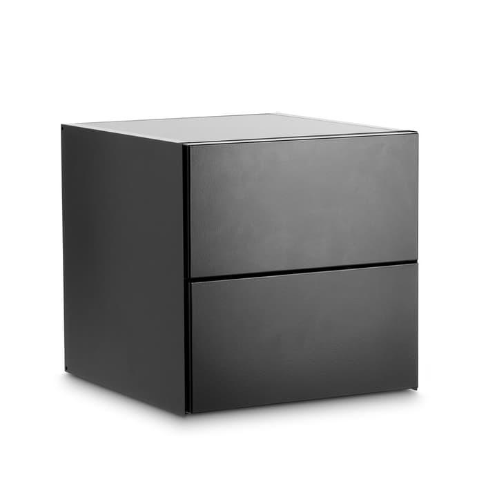 LEVY Caisson avec abattant 362016731401 Dimensions L: 35.0 cm x P: 37.0 cm x H: 35.0 cm Couleur Noir Photo no. 1
