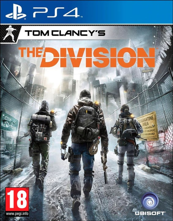PS4 - Tom Clancy's The Division Physique (Box) 785300120278 Photo no. 1
