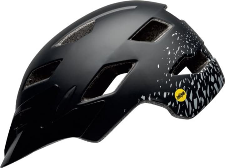 Sidetrack Child Casque de velo Bell 465011147420 Couleur noir Taille 47-54 Photo no. 1